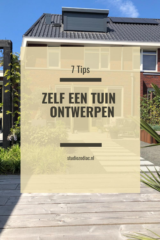Tips om zelf een tuin te ontwerpen