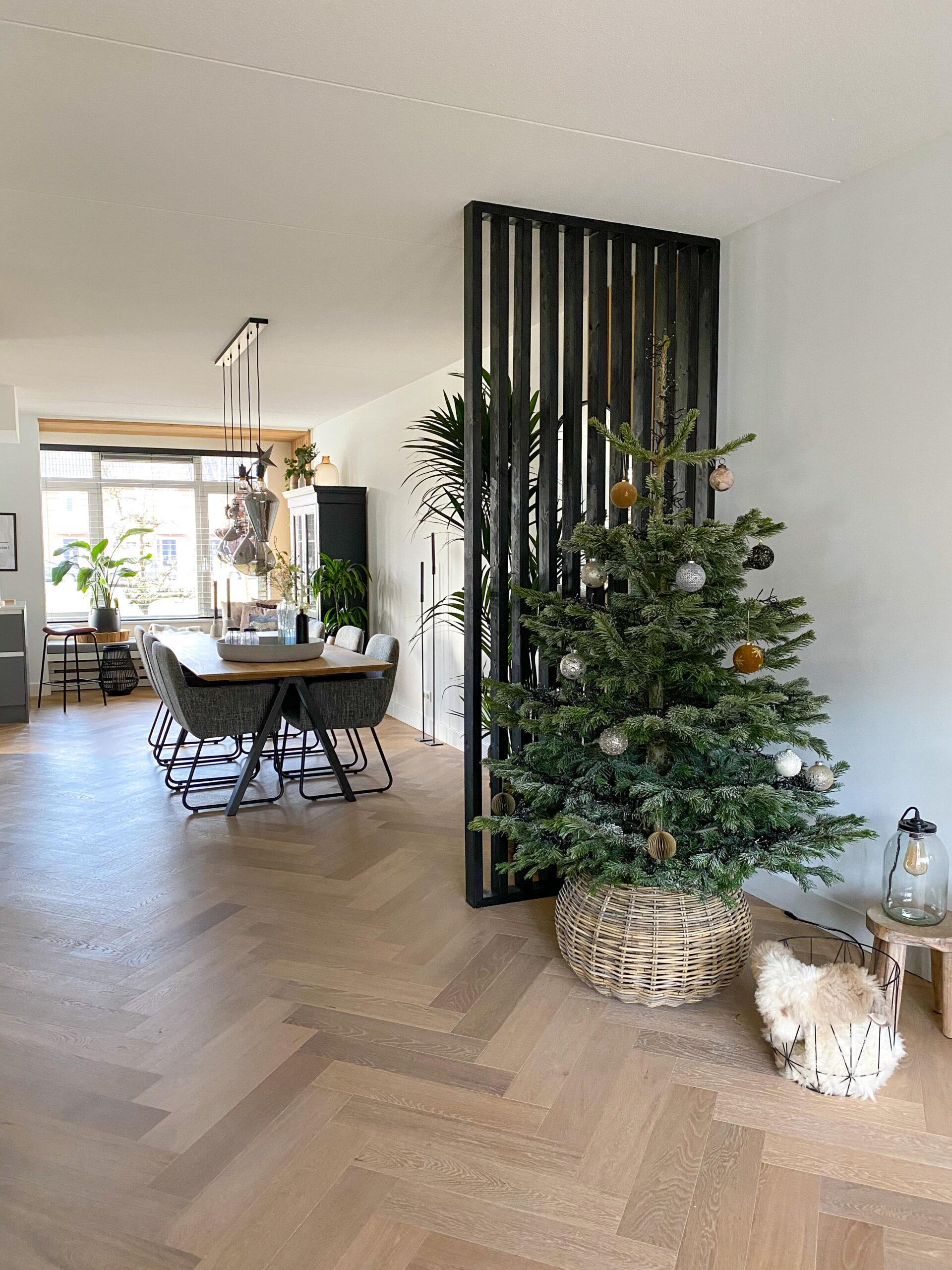 Kerstboom minimalistisch